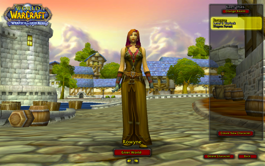 My World of Warcraft Avatar