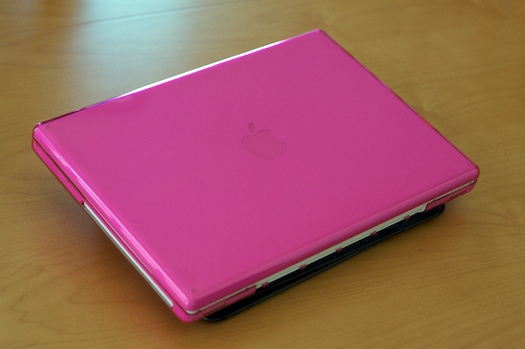 Pink MacBook